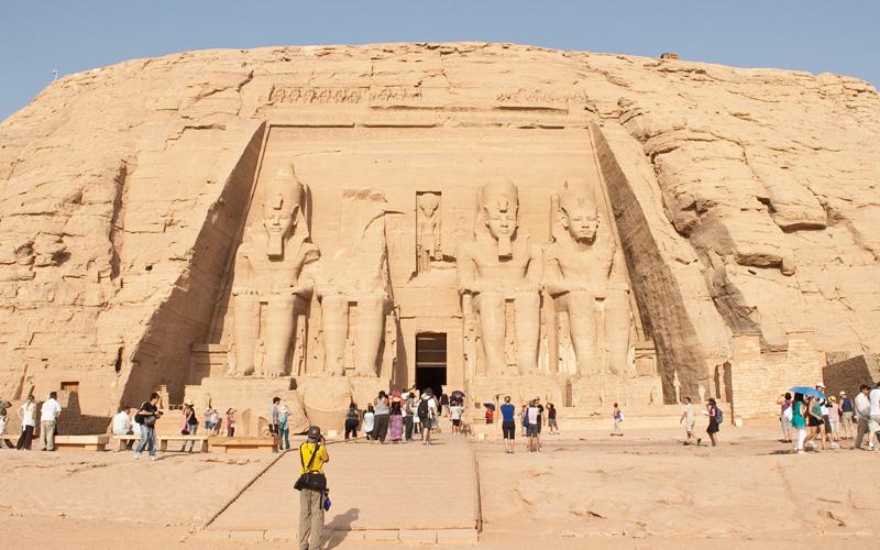Абу симбел - храм Рамзеса 2