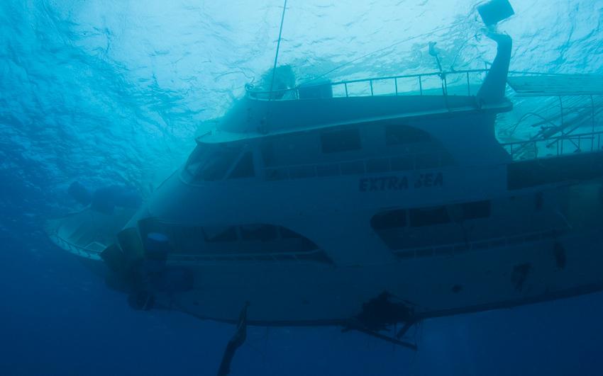 В Хургаде потерпела крушение яхта Extra Sea