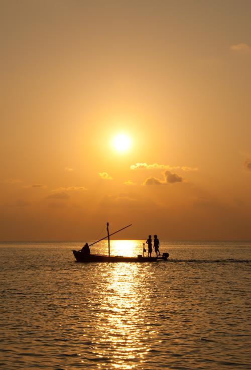Закат , Мальдивы