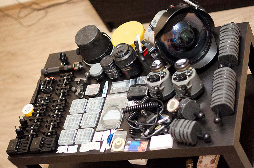 Подводное фотооборудование